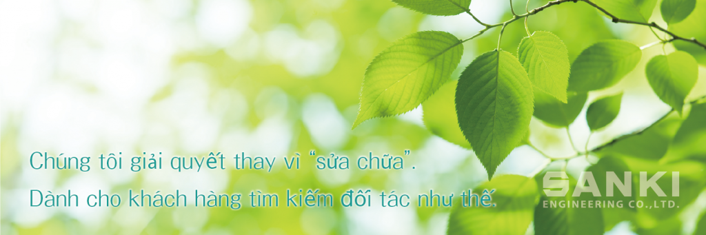 "Chung toi gi?i quy?t thay vi ""s?a ch?a"". Danh cho khach hang tim ki?m ??i tac nh? th?."
